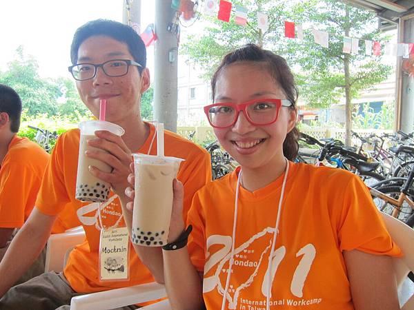 一直都是外國人愛的台灣小吃---珍珠奶茶