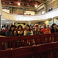 We were at the traditional theater in Chiufen.