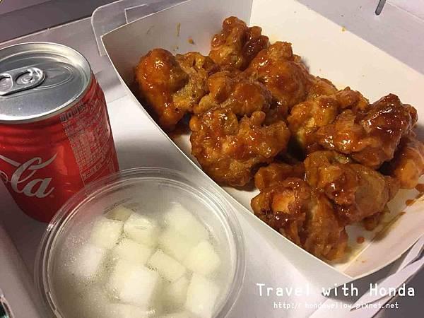 韓式炸雞大直北安店起家雞外帶洋釀去骨口味