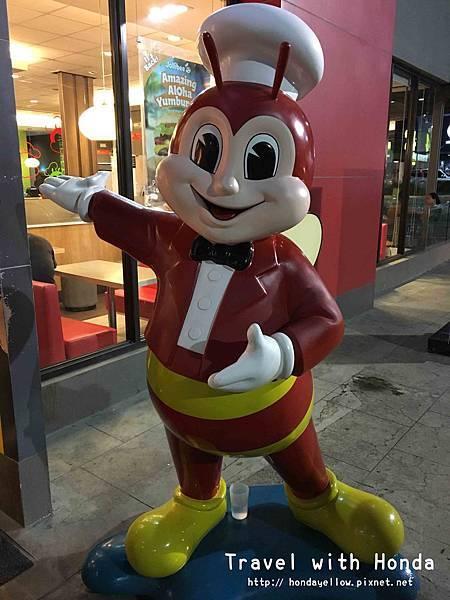 jollibee菲律賓必吃國民速食餐廳吉祥物