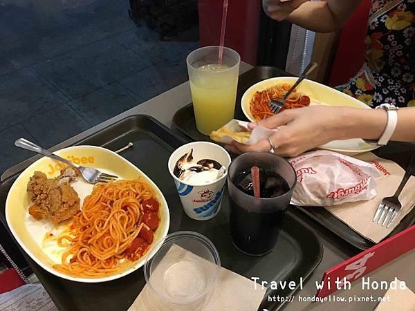 jollibee菲律賓必吃國民速食餐廳餐點義大利麵