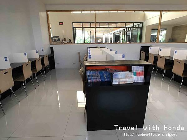 菲律賓宿霧ev語言學校環境自習室