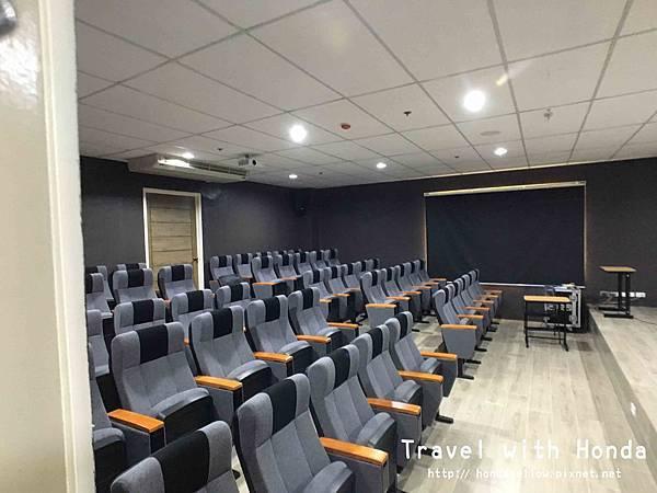 菲律賓宿霧ev語言學校環境電影院