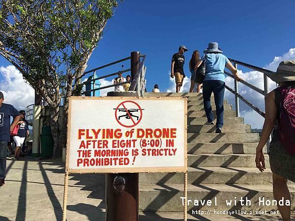 菲律賓宿霧薄荷島klook一日遊巧克力山空拍機空拍規定