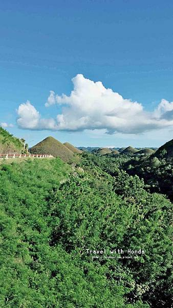 菲律賓宿霧薄荷島klook一日遊巧克力山
