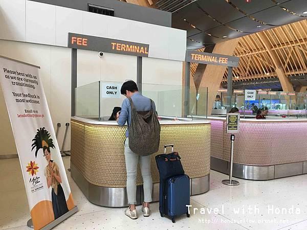 菲律賓宿霧麥克坦宿霧國際機場機場稅
