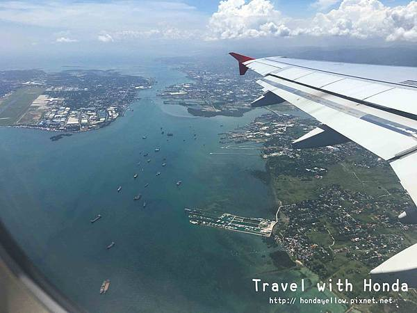 菲律賓宿霧麥克坦宿霧國際機場飛機上