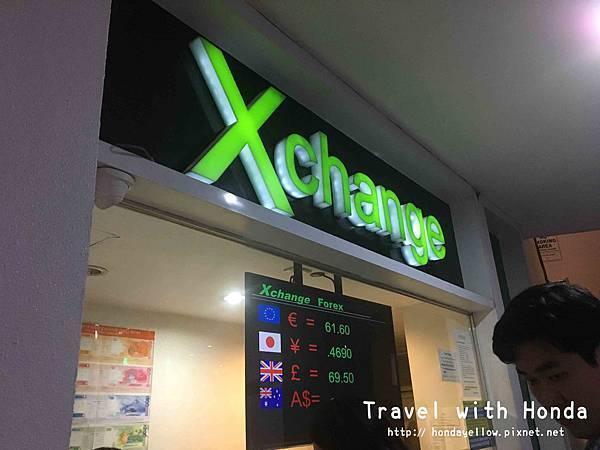 菲律賓宿霧ayala Xchange換錢匯率