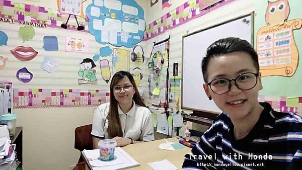 菲律賓宿霧UV語言學校一對一課上課體驗