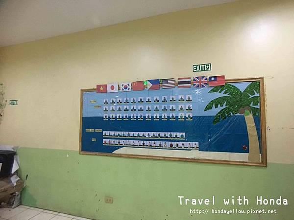 菲律賓宿霧UV語言學校校園教室環境