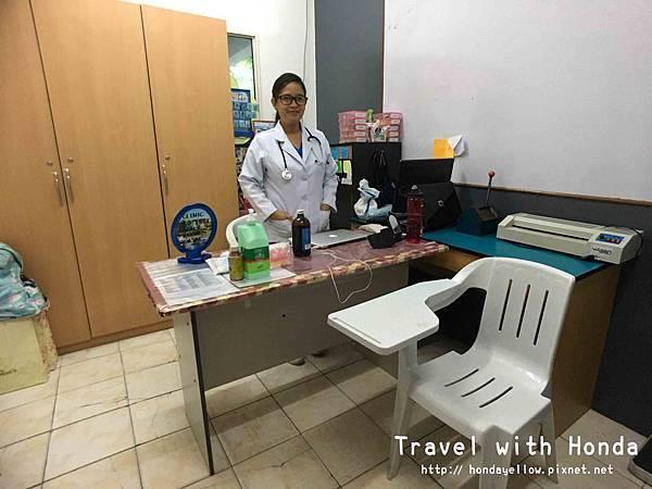 菲律賓宿霧UV語言學校醫護室