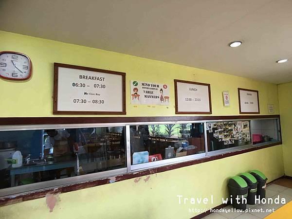 菲律賓宿霧UV語言學校學生餐廳