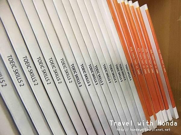 菲律賓宿霧UV語言學校上課書籍
