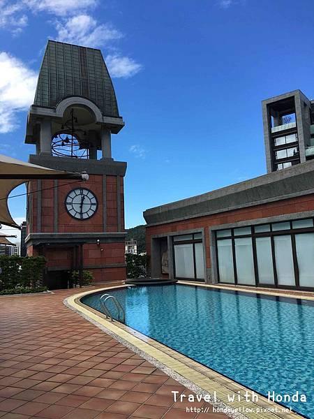 台北婚禮婚宴場地推薦-維多麗亞酒店Grand Victoria Hotel-泳池花園戶外證婚場地