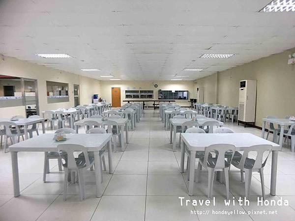 菲律賓宿霧ZAENGLISH語言學校學校餐廳