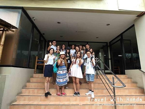 菲律賓宿霧BOC語言學校學校參觀合照