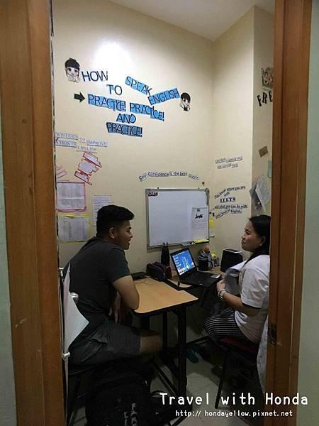 菲律賓宿霧ZAENGLISH語言學校學校教室環境