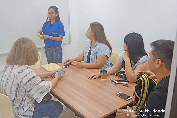 菲律賓宿霧I.Breeze語言學校上課