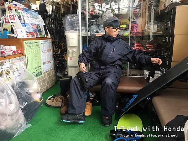 日本藏王溫泉滑雪裝備雪板滑雪衣褲租用上之台best-rental-pro-shop