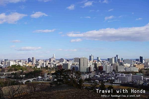日本100名城仙台城(青葉城)