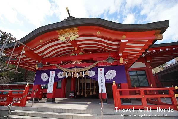 日本100名城仙台城(青葉城)護國神社