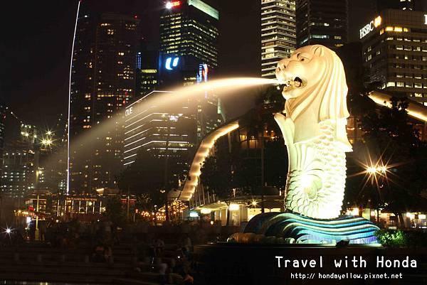 新加坡夜景推薦魚尾獅