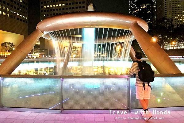 新加坡-新達城Suntec City-財富之泉Fountain of Wealth