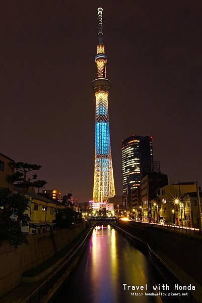 晴空塔十間橋拍照點 東京スカイツリー