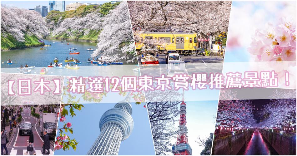 【日本】你絕對會愛上的12個東京賞櫻推薦景點!