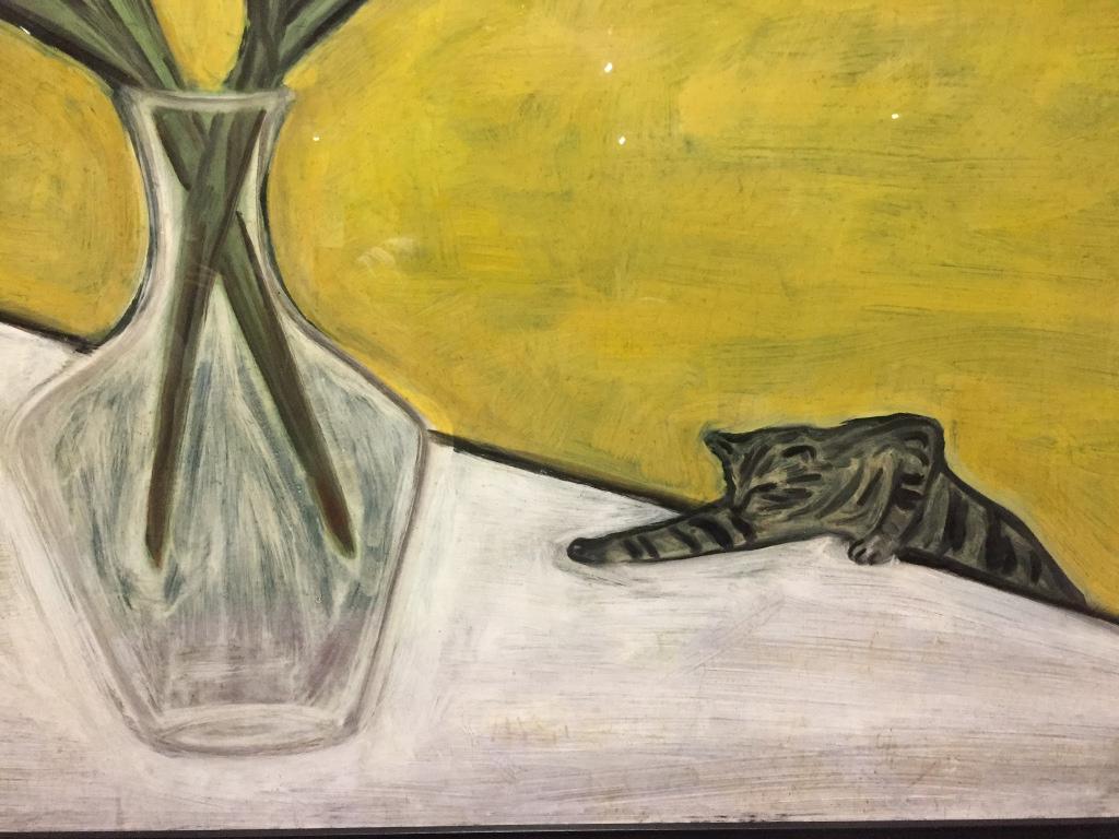 畫龍點睛的小貓咪