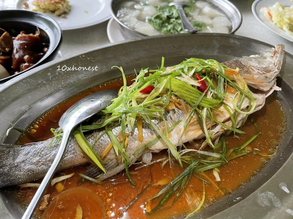 白石庭園合菜_清蒸鮮魚