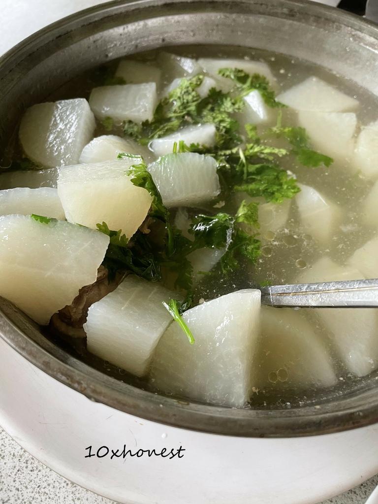 白石庭園合菜_美味雞湯