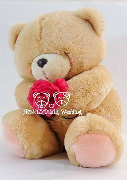 16吋單枝玫瑰熊 $3150.jpg 熱烈搶購一空