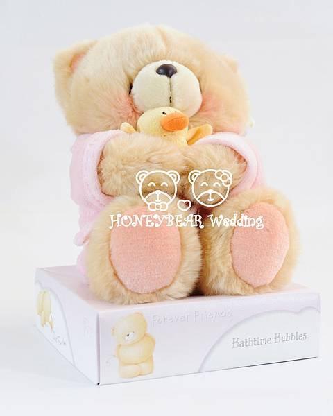 8吋手抱鴨子熊(粉紅) $1580.jpg