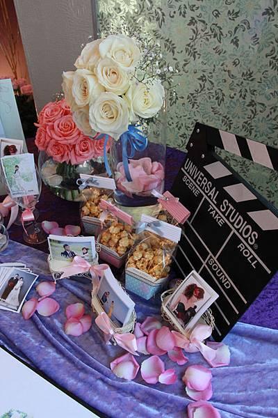 婚禮小物婚禮佈置相本桌佈置