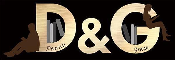 D&G logo婚禮logo設計