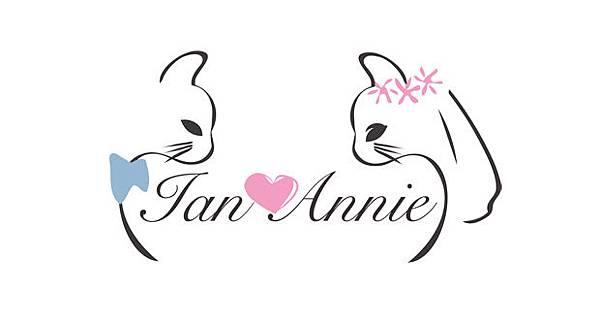 貓主題婚禮佈置logo設計