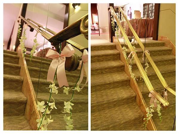 貓主題婚禮佈置走道拉紗設計