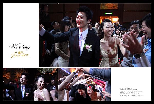 哈妮熊幸福工坊主題婚禮-D&G書店婚禮-二次進場麻吉篇