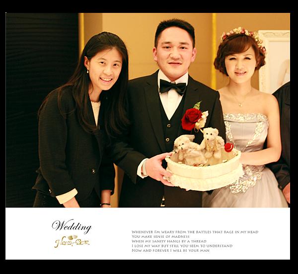 哈妮熊幸福工坊國賓婚禮-與新人合照