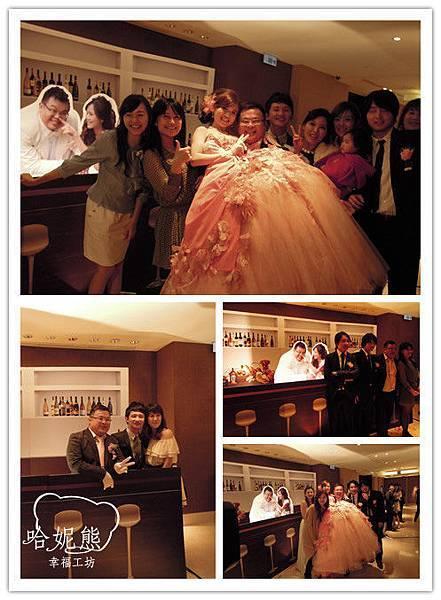 佑安&姿惠 主題婚禮 牛排館背景