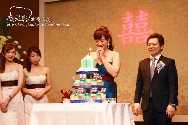 獻萍許下新婚後的第一個生日願望