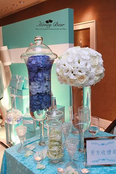 士鈞&善文的幸福Tiffany-收禮桌