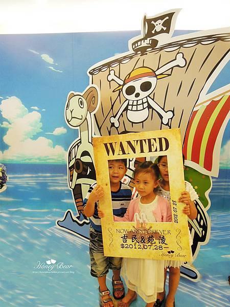 小朋友都很愛海賊王的懸賞令-- J&D航海情緣