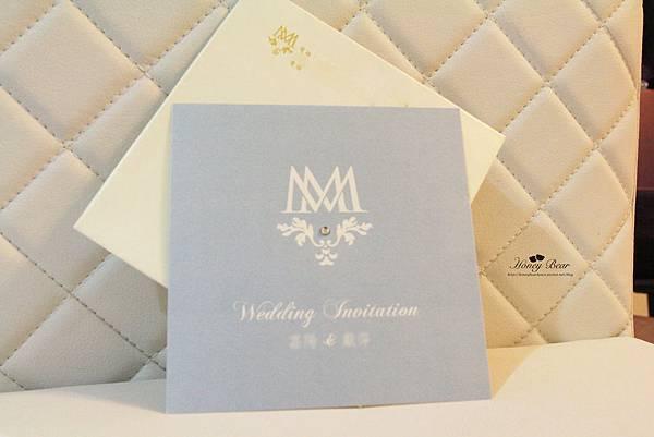 M&M英倫風 明信片風格喜帖