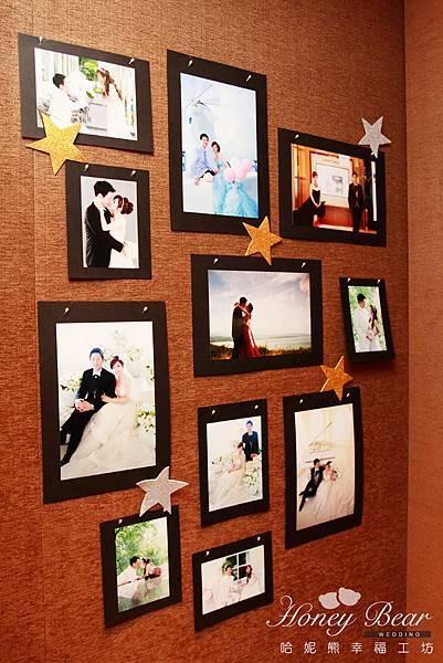 哈妮熊-海尼根精彩妳的人生~相片牆婚禮佈置
