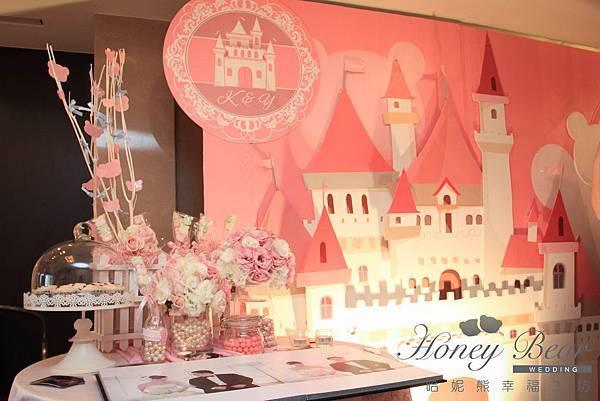 哈妮熊- 粉色 主題佈置