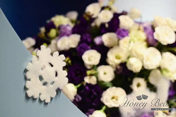 哈妮熊滑雪主題婚禮-文泰&彥如 主題區@君悅