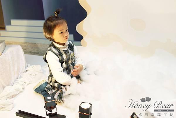 哈妮熊滑雪會場佈置-文泰&彥如 雪花@君悅