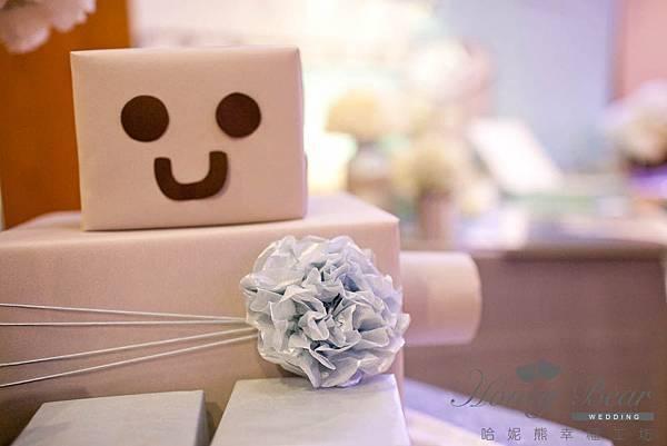 哈妮熊機器人主題婚禮-工廠風主題區@宜蘭詩藝